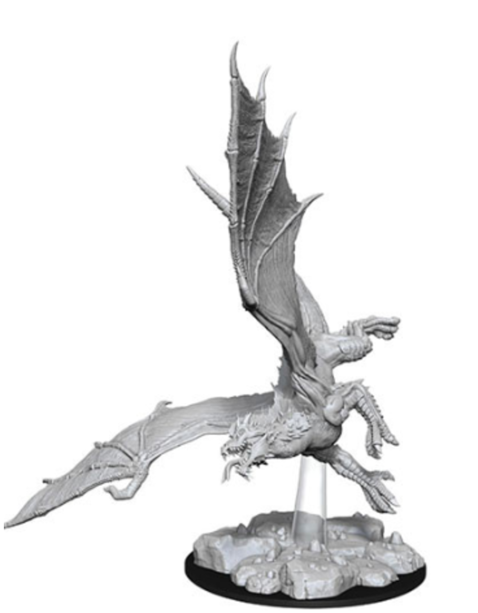 Wizkids D&D Nolzurs Unpainted Minis: Wave 8 Young Green Dragon