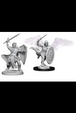 Wizkids Aasimar Male Fighter: D&D Nolzurs Marvelous Unpainted Minis