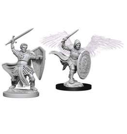 Wizkids Aasimar Male Fighter: D&D Nolzurs Marvelous Unpainted Minis