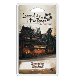 Fantasy Flight Games Legend of the Five Rings LCG: Spreading Shadows Dynasty Pack