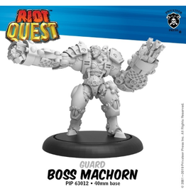 Privateer Press Boss MacHorn – Riot Quest Guard