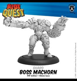 Privateer Press Boss MacHorn – Riot Quest Guard