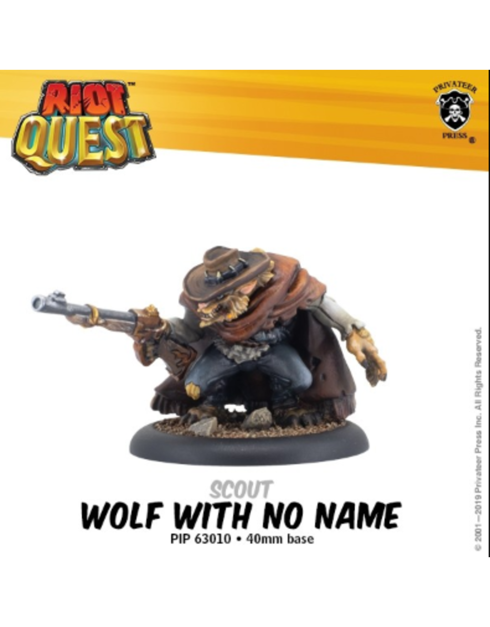 Privateer Press Riot Quest Wolf With no Name