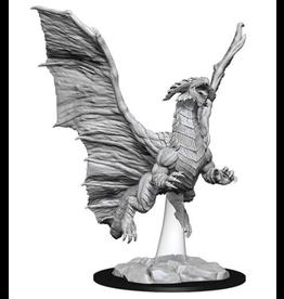 Wizkids D&D Nolzurs Unpainted Minis: Wave 8 Young Copper Dragon