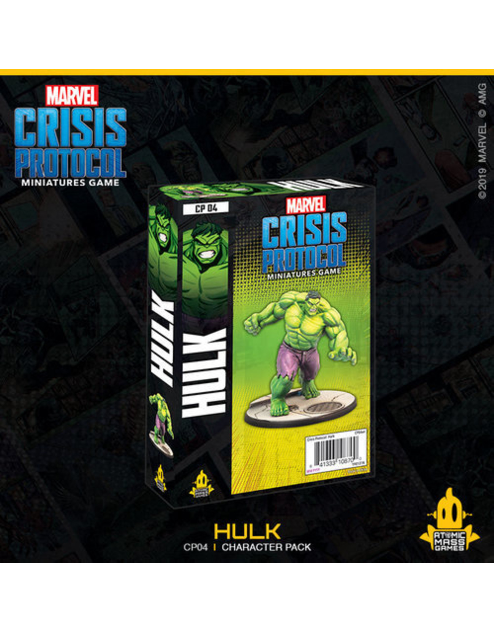Atomic Mass Games Marvel: Crisis Protocol - Hulk