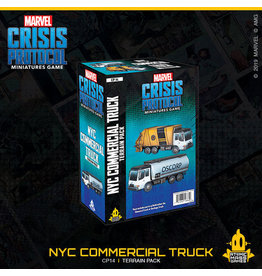 Atomic Mass Games NYC Commercial Truck Terrain Pack - Marvel Crisis Protocol