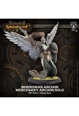 Privateer Press Morrowan Archon – WARMACHINE Mercenary Archon Solo (metal/resin)