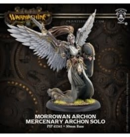 Privateer Press Morrowan Archon – WARMACHINE Mercenary Archon Solo (metal/resin)