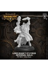 Privateer Press Lord Roget d'Vyros – Infernal Character Solo (metal)