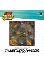 Privateer Press Riot Quest Thunderhead Fortress  Fabric Playmat