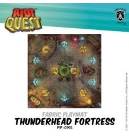 Privateer Press Thunderhead Fortress – Riot Quest fabric playmat