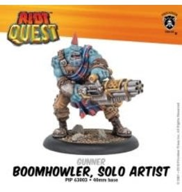 Privateer Press Boomhowler, Solo Artist – Riot Quest Gunner