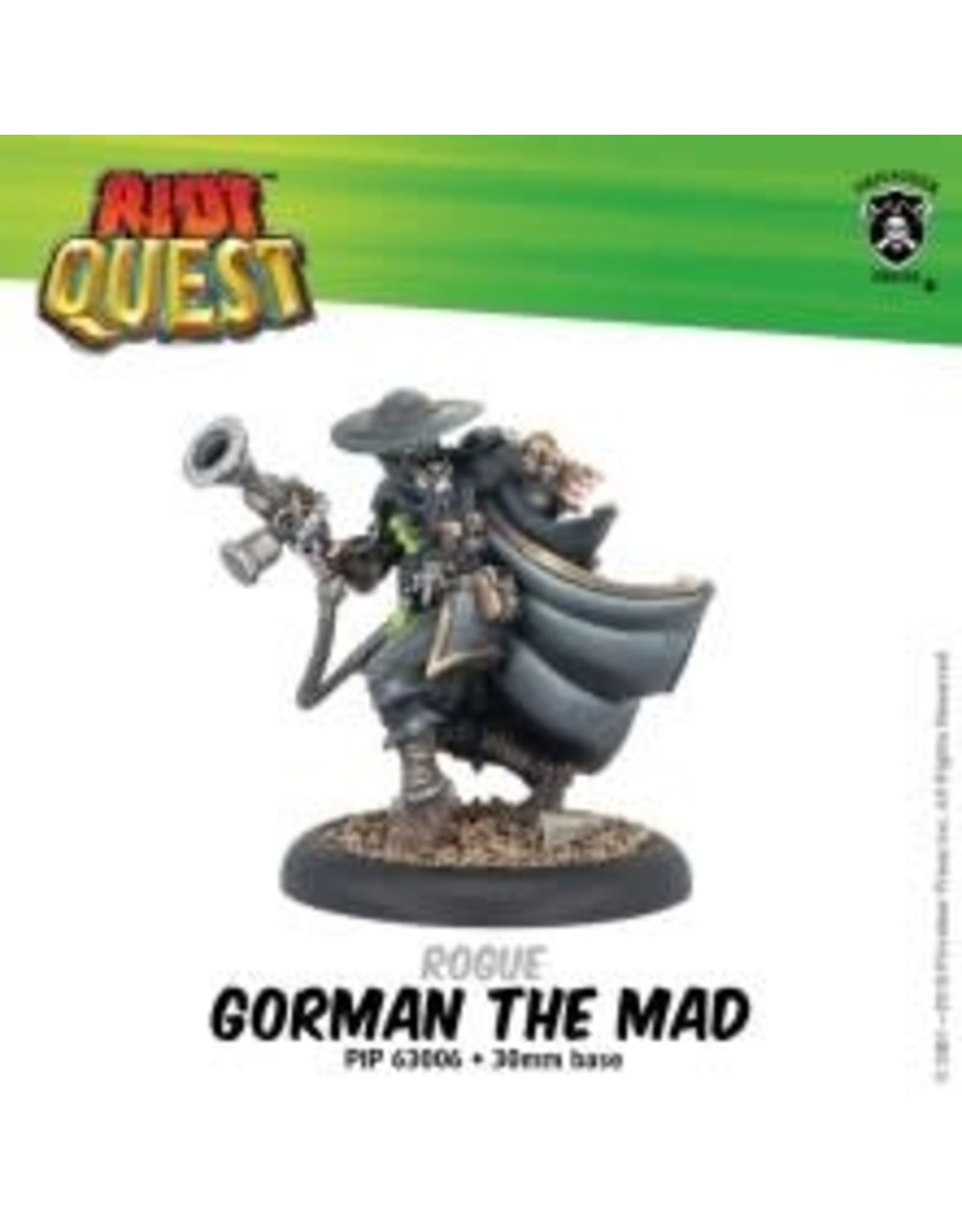 Privateer Press Gorman the Mad – Riot Quest Rogue