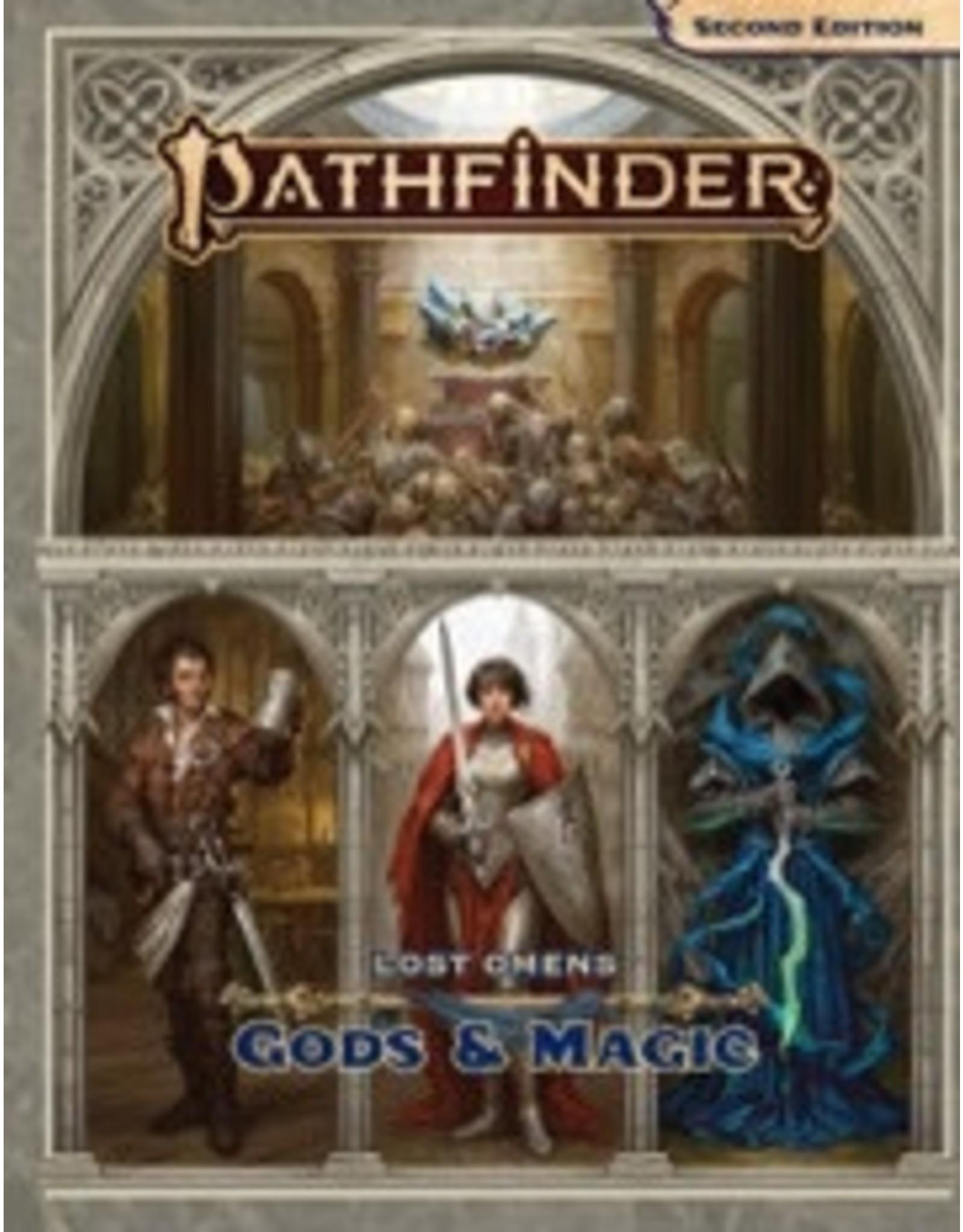 Paizo Pathfinder 2E: Lost Omens Gods and Magic Hardcover