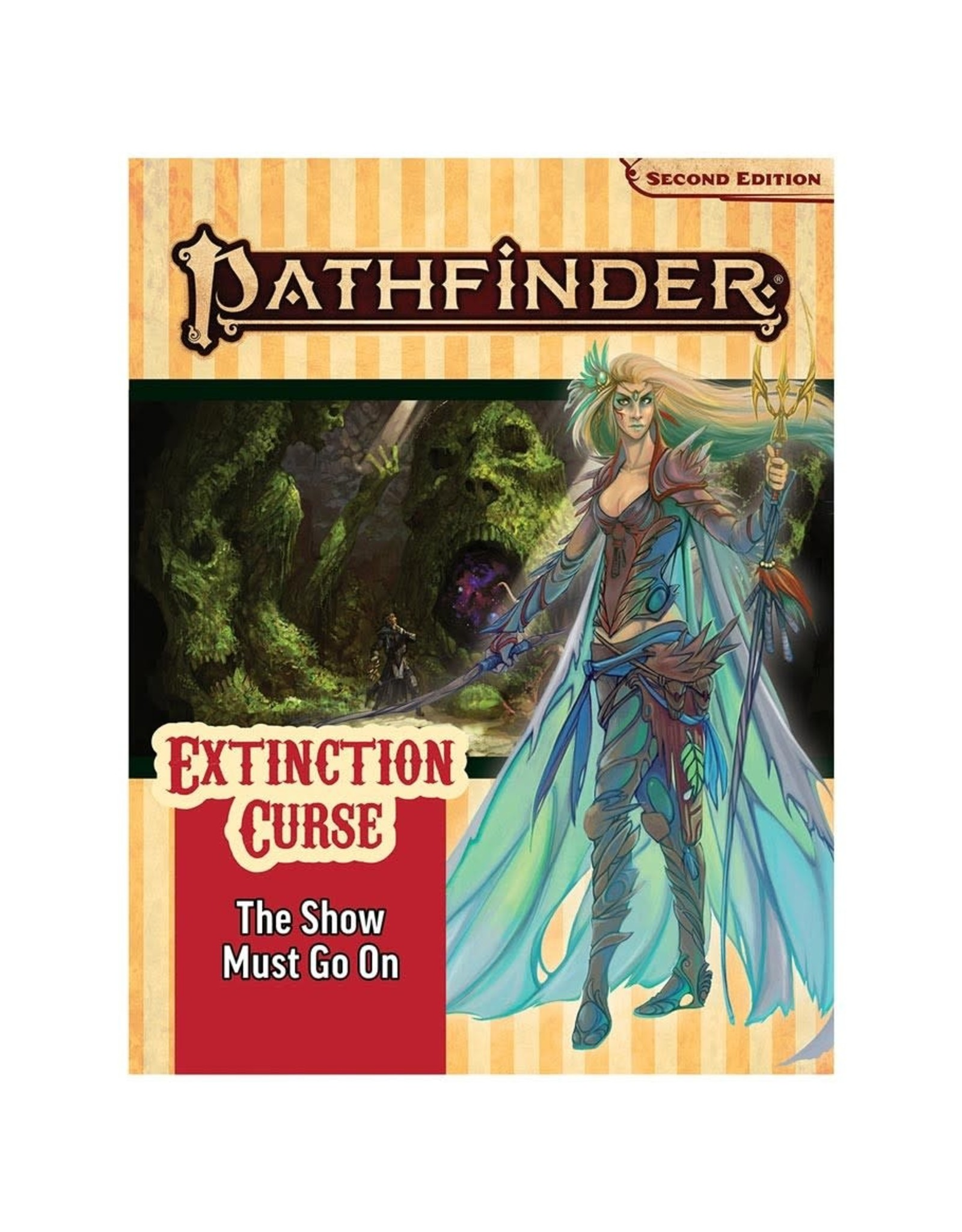 Paizo Pathfinder 2E Adventure Path: Extinction Curse 1 - The Show Must Go On
