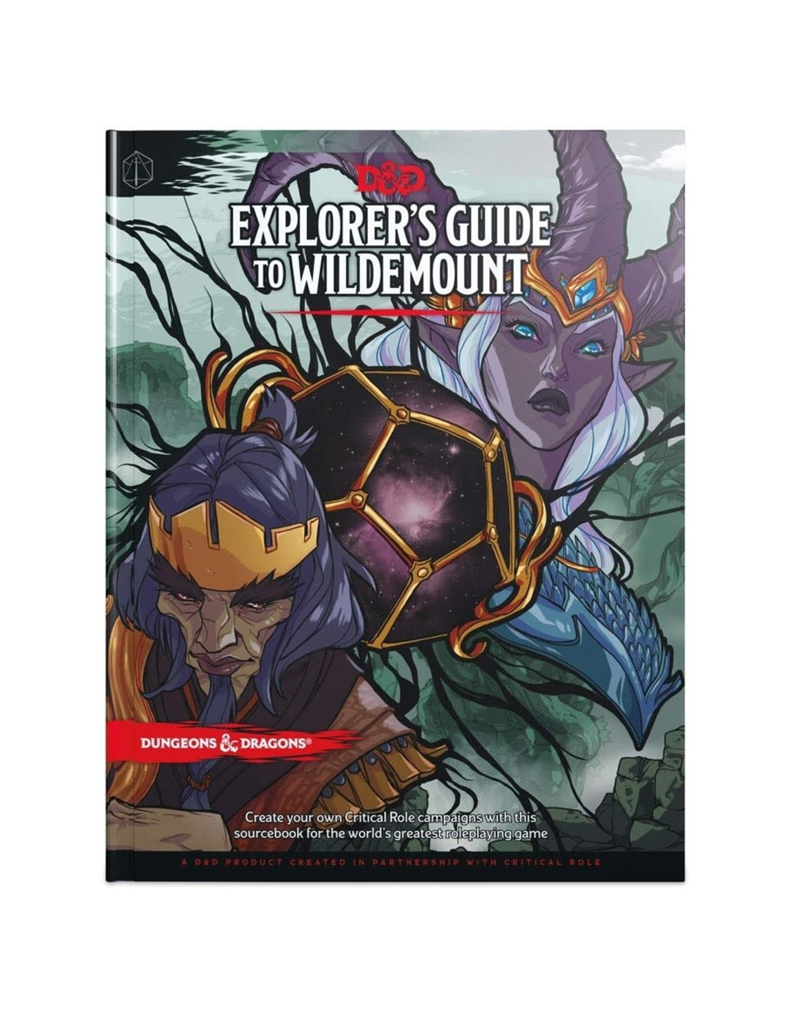 Wizards of the Coast D&D 5th Edition: Explorer's Guide to Wildemount