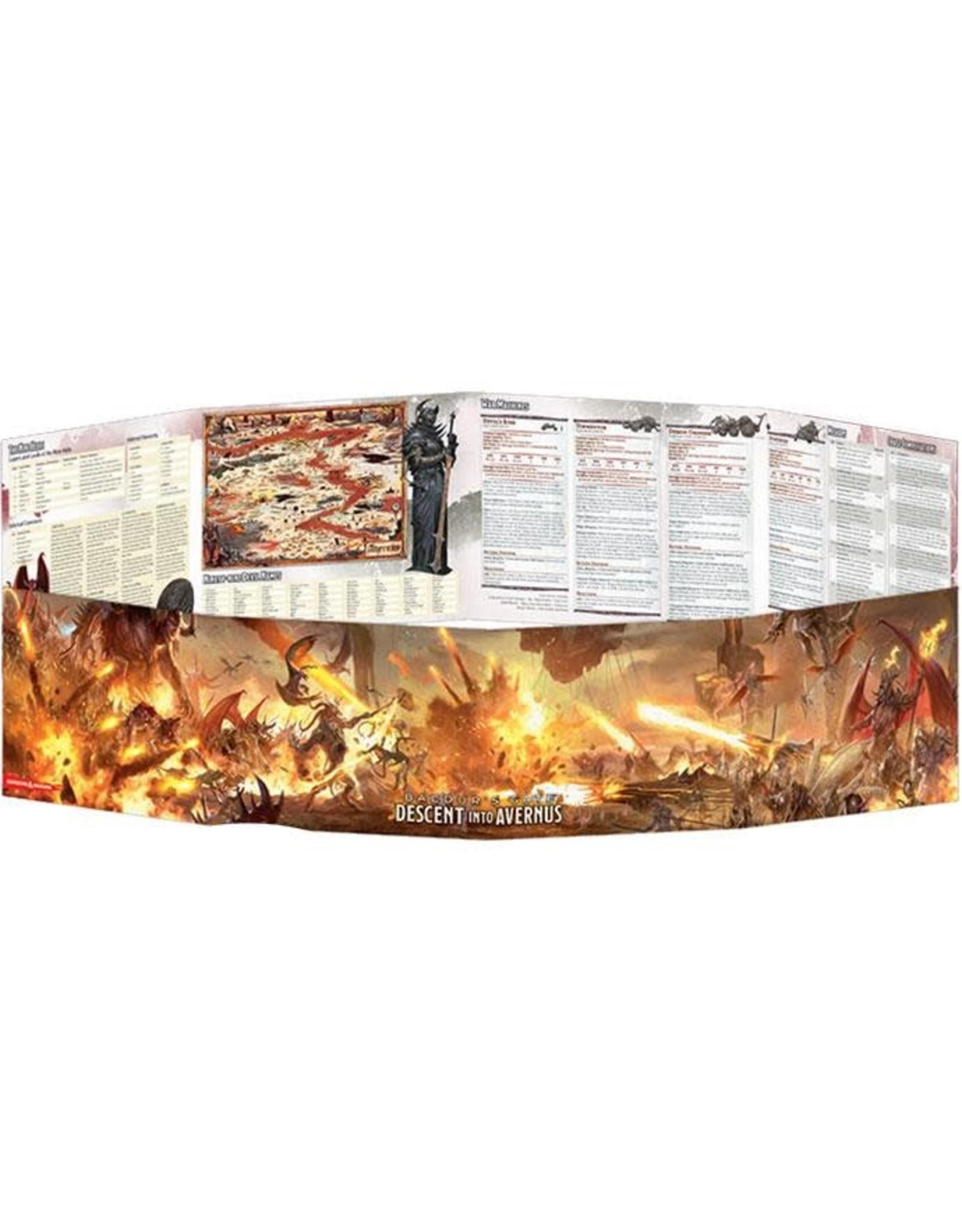 GaleForce Nine D&D 5th Edition: Descent into Avernus DM Screen