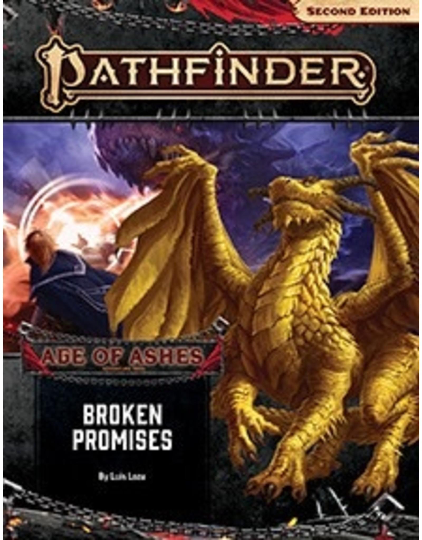 Paizo Pathfinder 2E Adventure Path: Age of Ashes Part 6 - Broken Promises