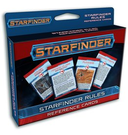 Paizo Starfinder RPG: Rules Reference Cards