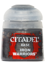 Games Workshop BASE: IRON WARRIORS (12ML)