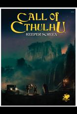 Chaosium Inc. Call of Cthulhu RPG Keeper Screen Pack