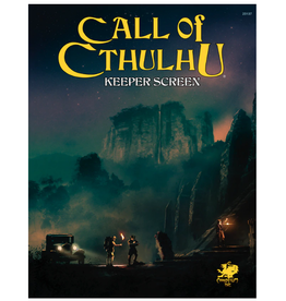 Chaosium Inc. Call of Cthulhu RPG Keeper Screen Pack