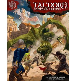 Green Ronin Publishing D&D - Critical Role: TalDorei Campaign Setting