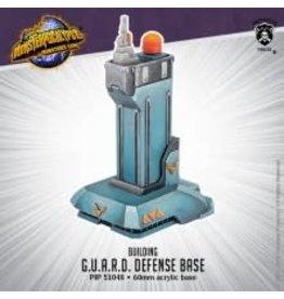 Privateer Press G.U.A.R.D. Defense Base – Monsterpocalypse Building (resin)