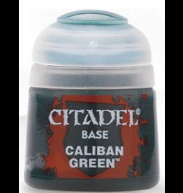 Games Workshop Citadel Base Caliban Green