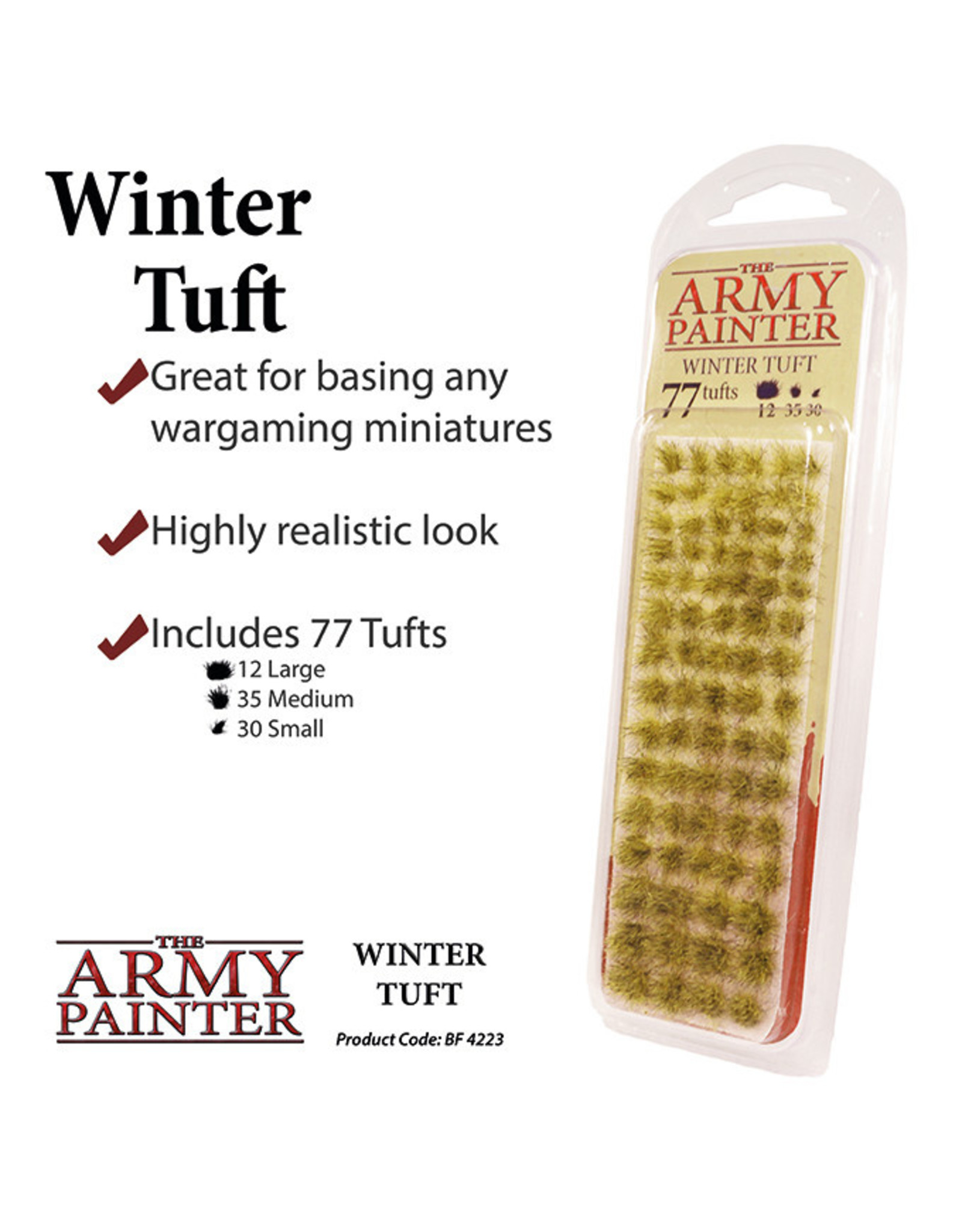 Army Painter Battlefields XP: Winter Tuft