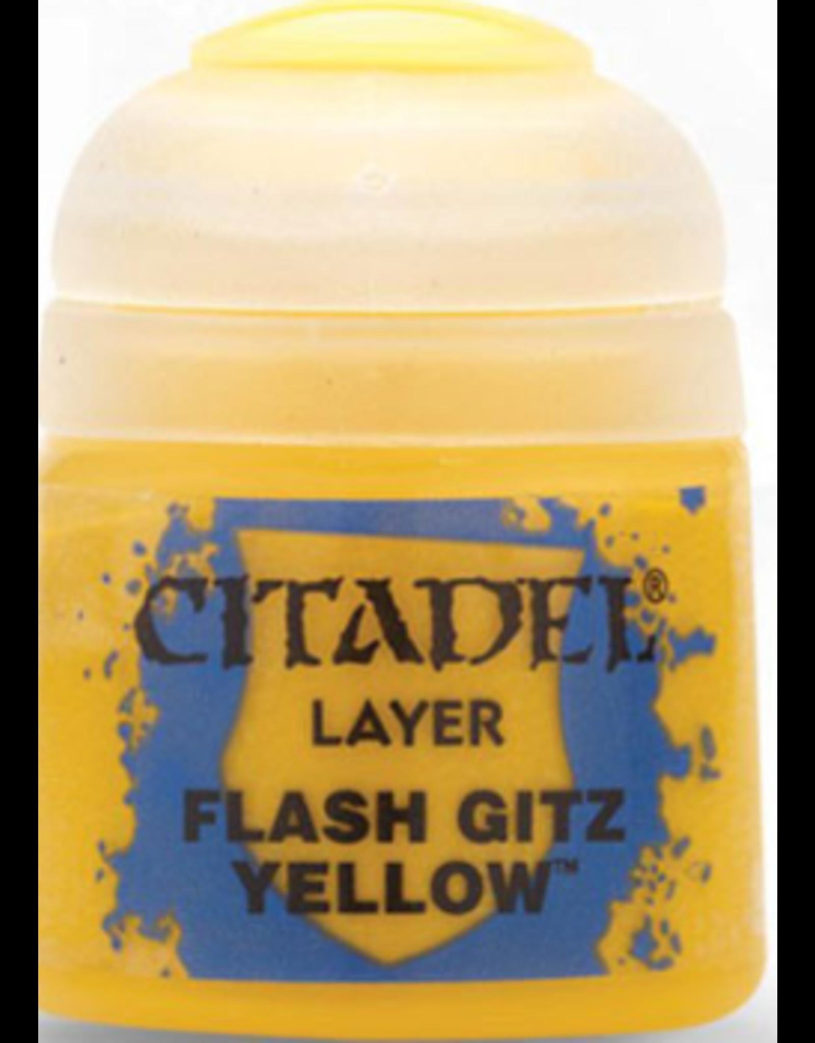 Games Workshop Citadel Layer Flash Gitz Yellow