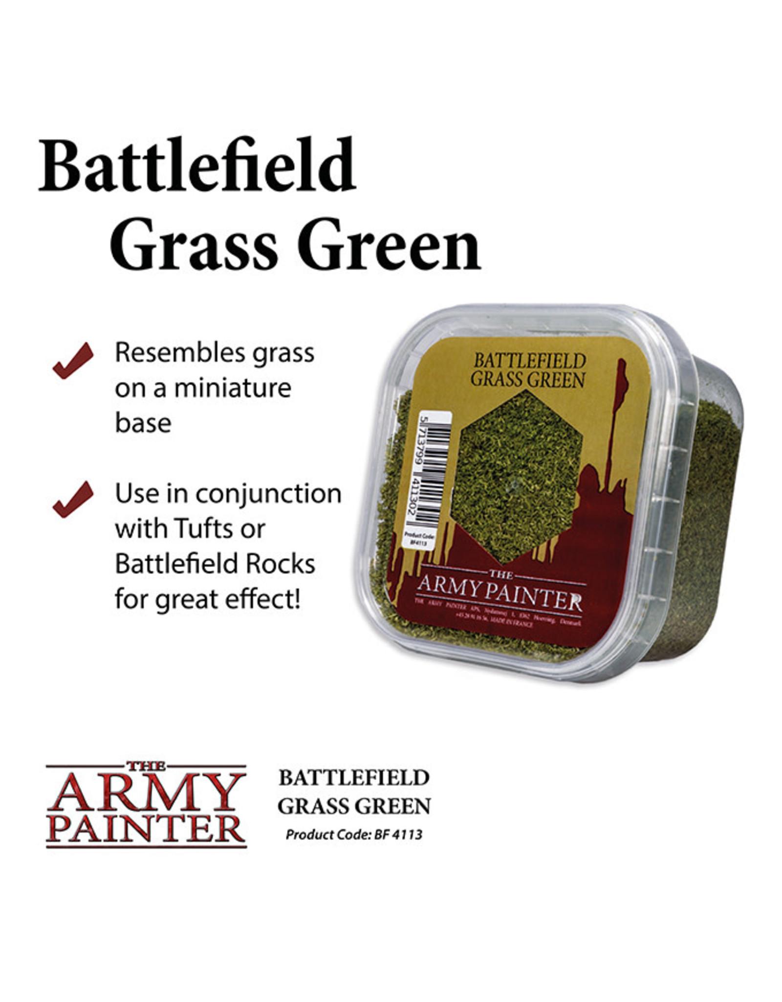 Army Painter Battlefields Essential: Grass Green Scatter