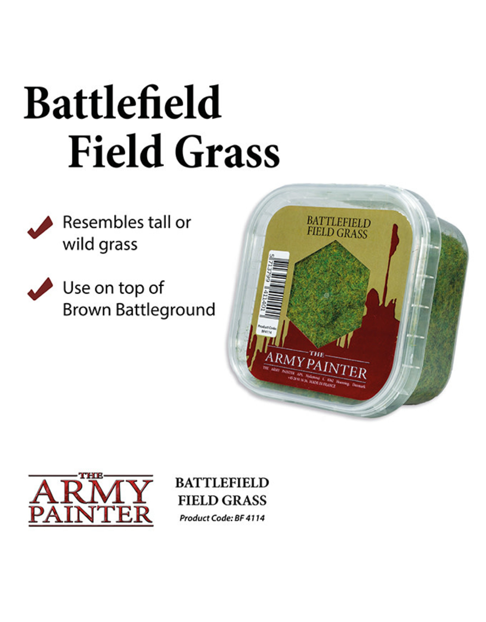 Army Painter Battlefields Essential: Field Grass Static