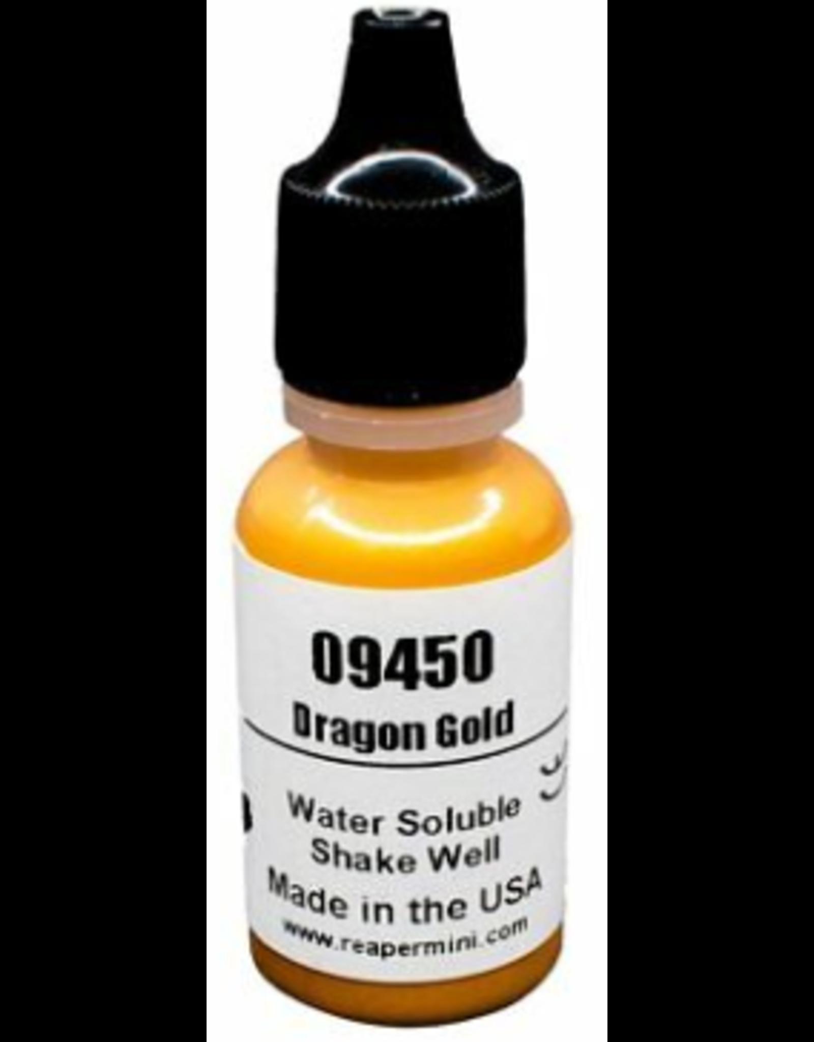 Reaper Master Series Paints: Dragon Gold 1/2oz