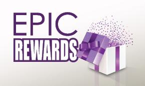 Epic Rewards header