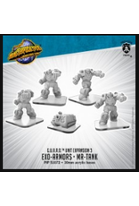 Privateer Press Monsterpocalypse G.U.A.R.D. Units - Exo-Armors & MR-Tank
