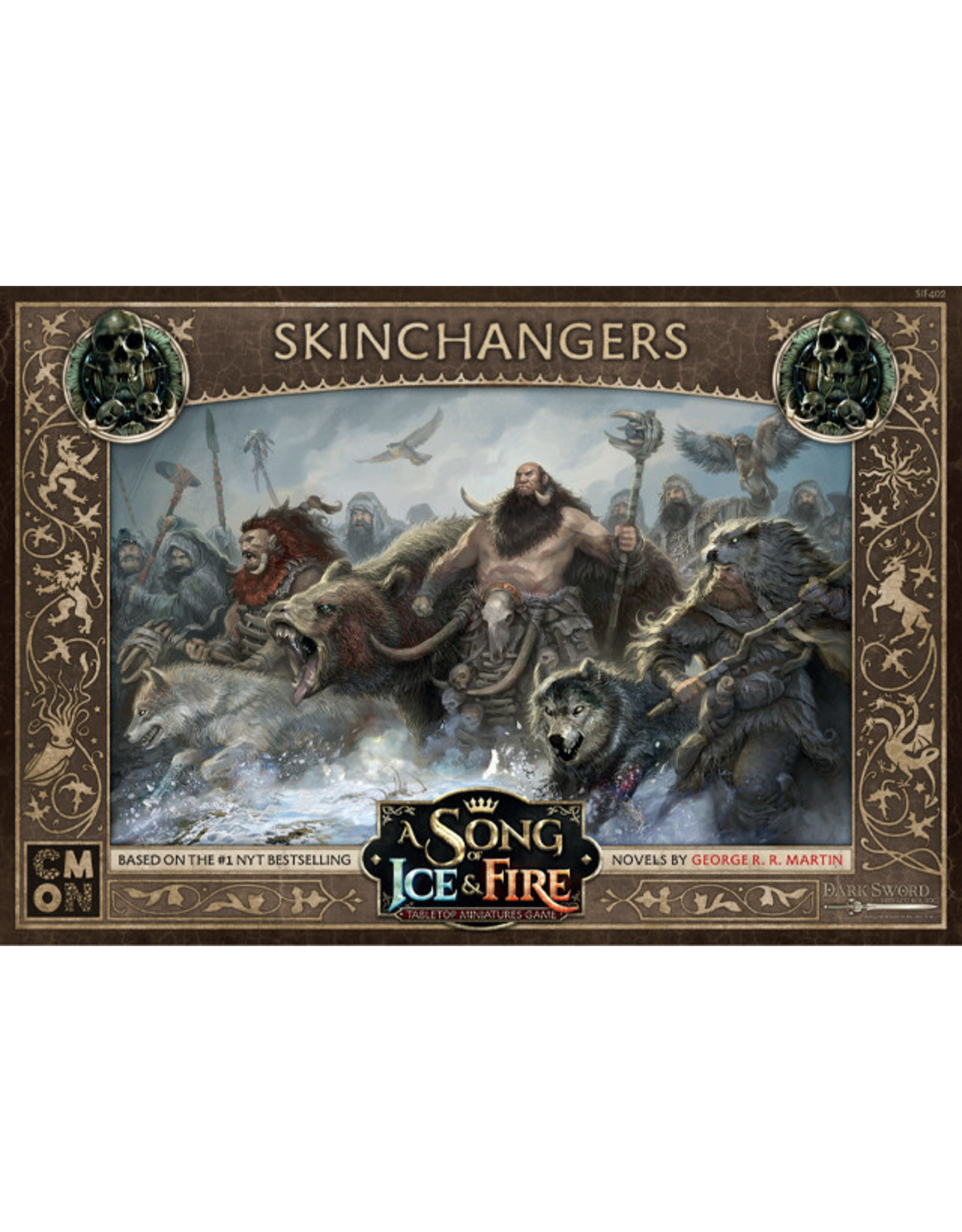 Cool Mini or Not Free Folk Skinchangers : A Song of Ice & Fire Tabletop Miniatures Game