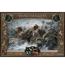 Cool Mini or Not A Song of Ice & Fire Tabletop Miniatures Game: Free Folk Skinchangers