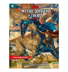 Wizards of the Coast D&D 5th Edition: Mythic Odysseys of Theros Hard Cover