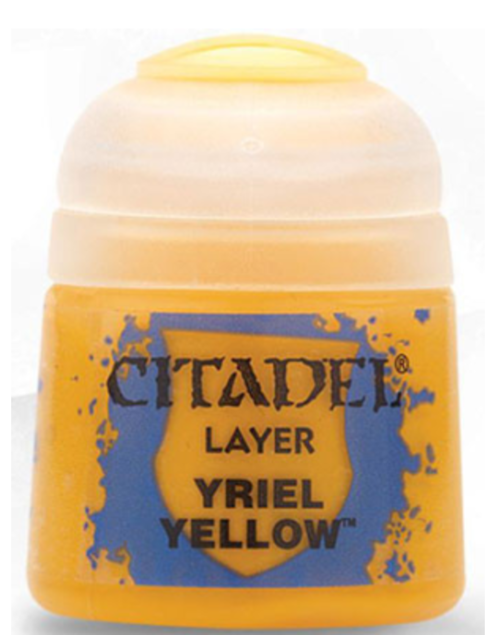 Games Workshop Citadel Layer Yriel Yellow