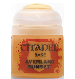 Games Workshop Citadel Base Averland Sunset