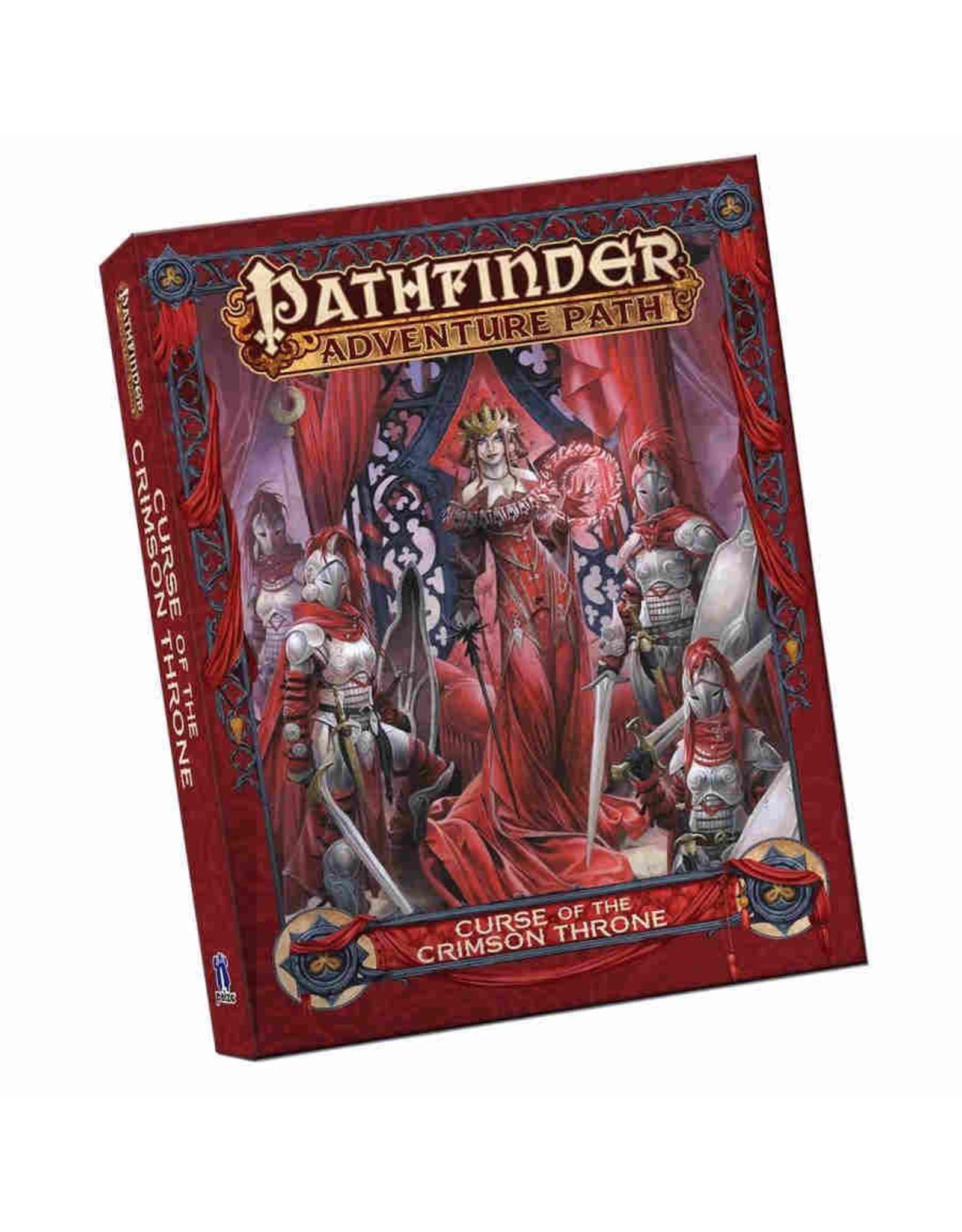 Paizo Pathfinder RPG: Adventure Path - Curse of the Crimson Throne - Pocket Edition