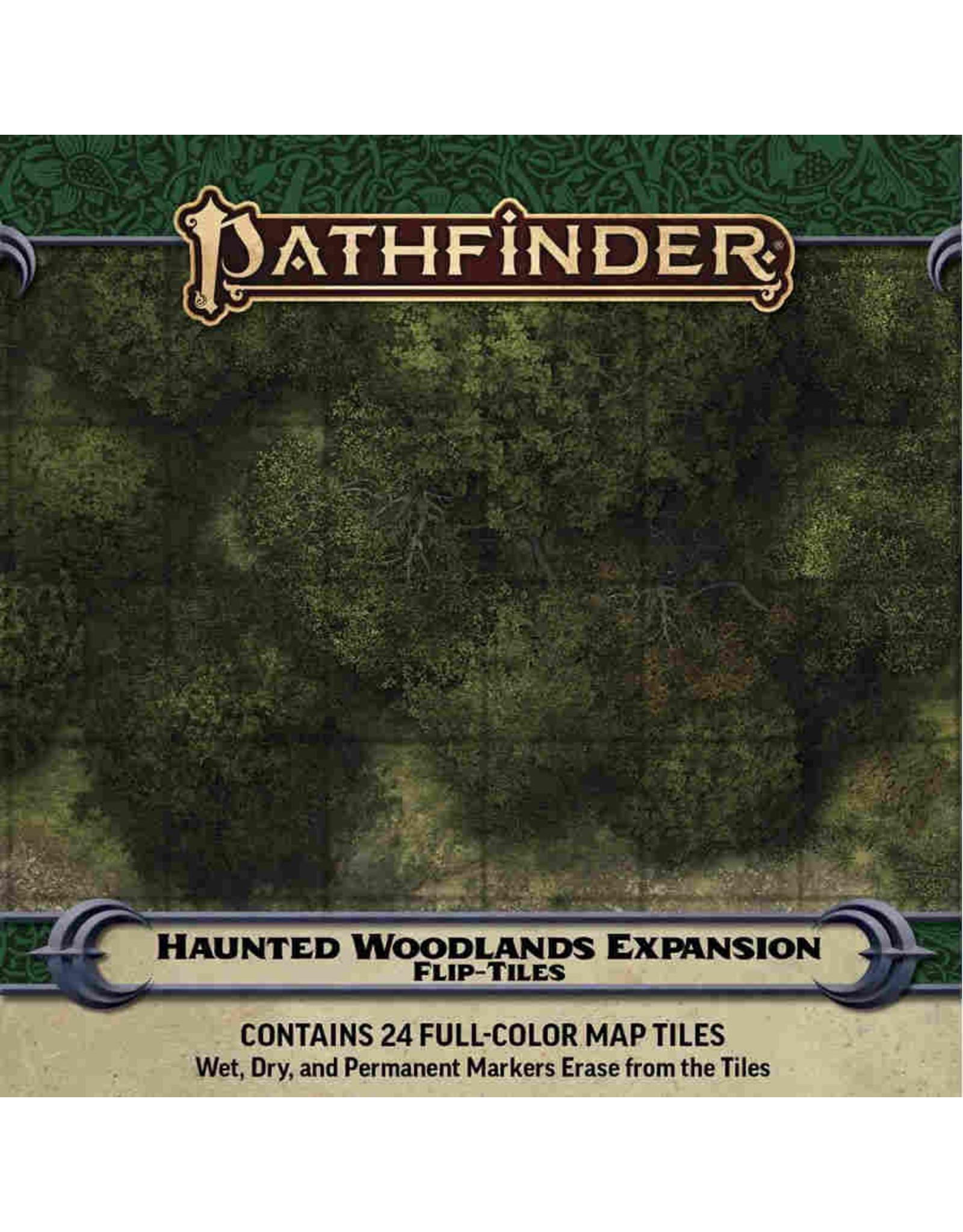 Paizo Pathfinder RPG: Flip-Tiles - Haunted Woodlands Expansion