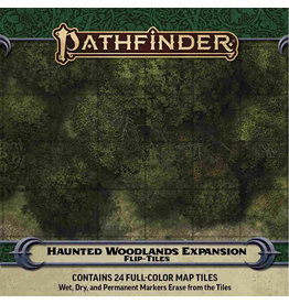 Paizo Pathfinder RPG: Flip-Tiles - Haunted Woodlands Expansion