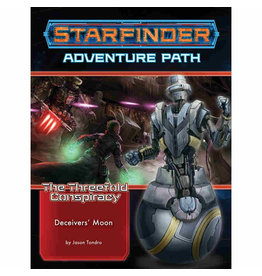 Paizo Starfinder Adventure Path: The Threefold Conspiracy 3 - Deceiver's Moon