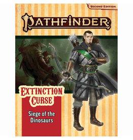 Paizo Pathfinder 2E Adventure Path: Extinction Curse 4 - Siege of Dinosaurs