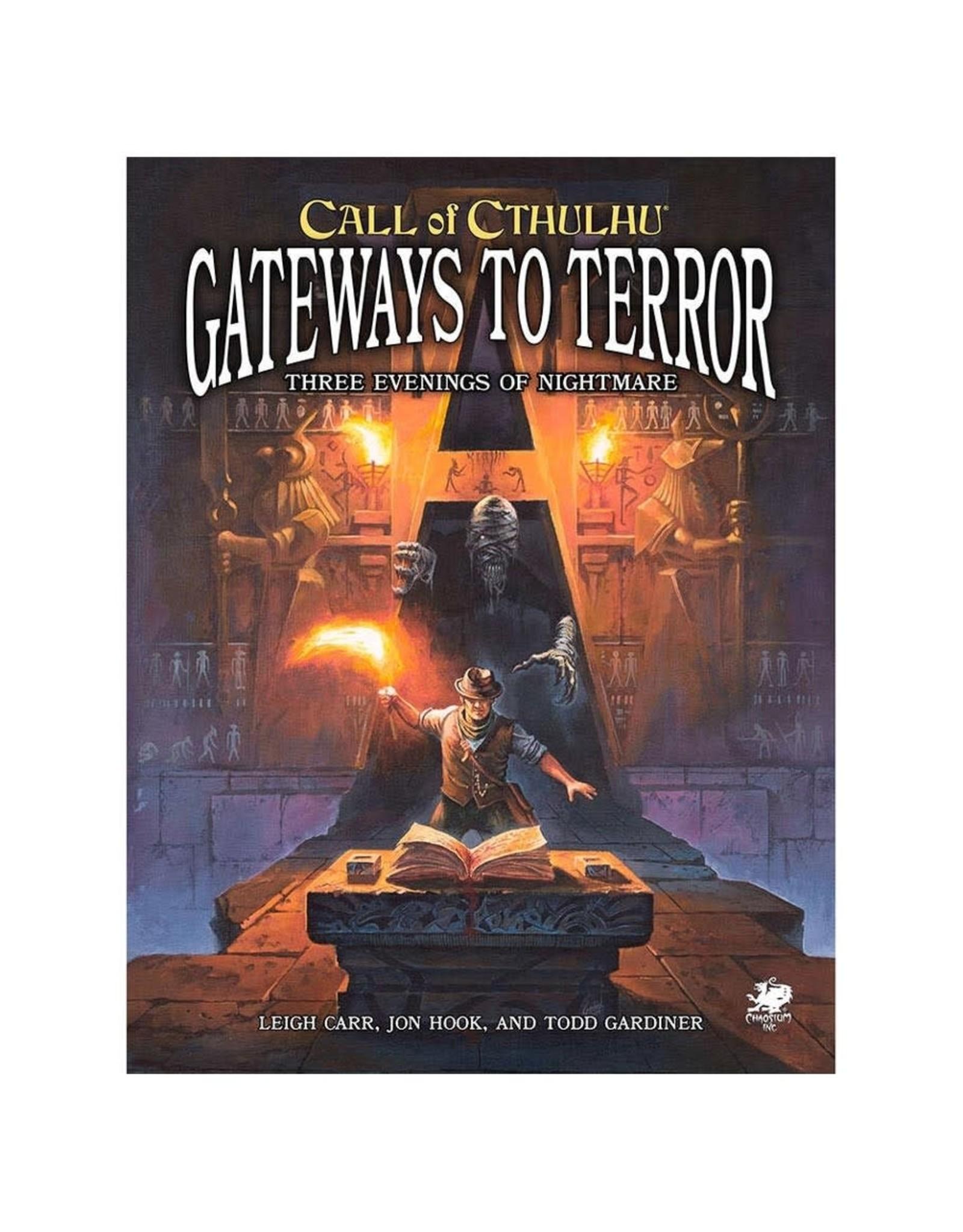 Chaosium Inc. Call of Cthulhu RPG 7E: Gateways to Terror