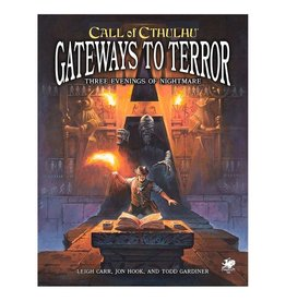 Chaosium Inc. Call of Cthulhu RPG 7E: Gateways to Terror