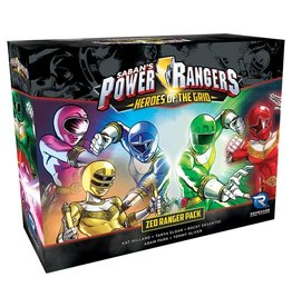 Renegade Power Rangers: Heroes of the Grid Zeo Ranger Pack