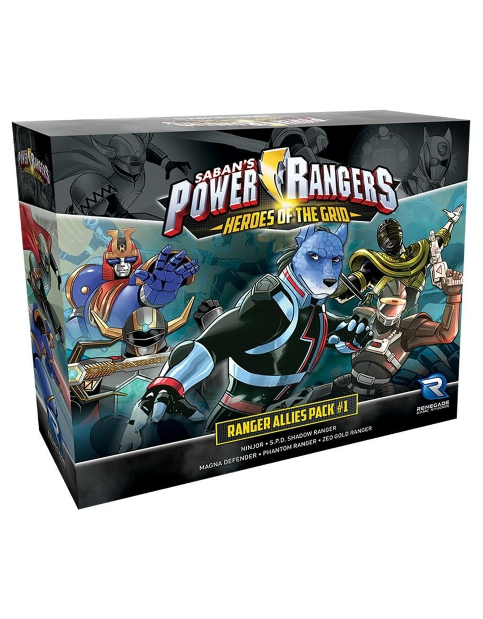 Renegade Power Rangers: Heroes of the Grid Allies Pack #1